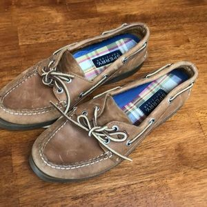 Sperry's size 8 1/2. Gently worn